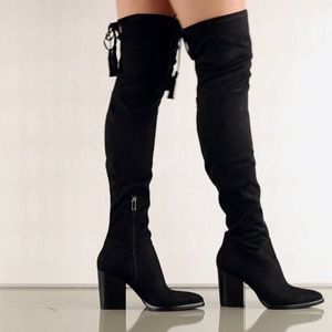 New Marc Fisher Alinda Over The Knee Boots